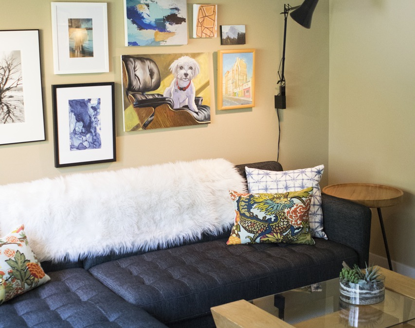 KRISTEN SEIFKIN and her MCM-Zen Home in North Portland