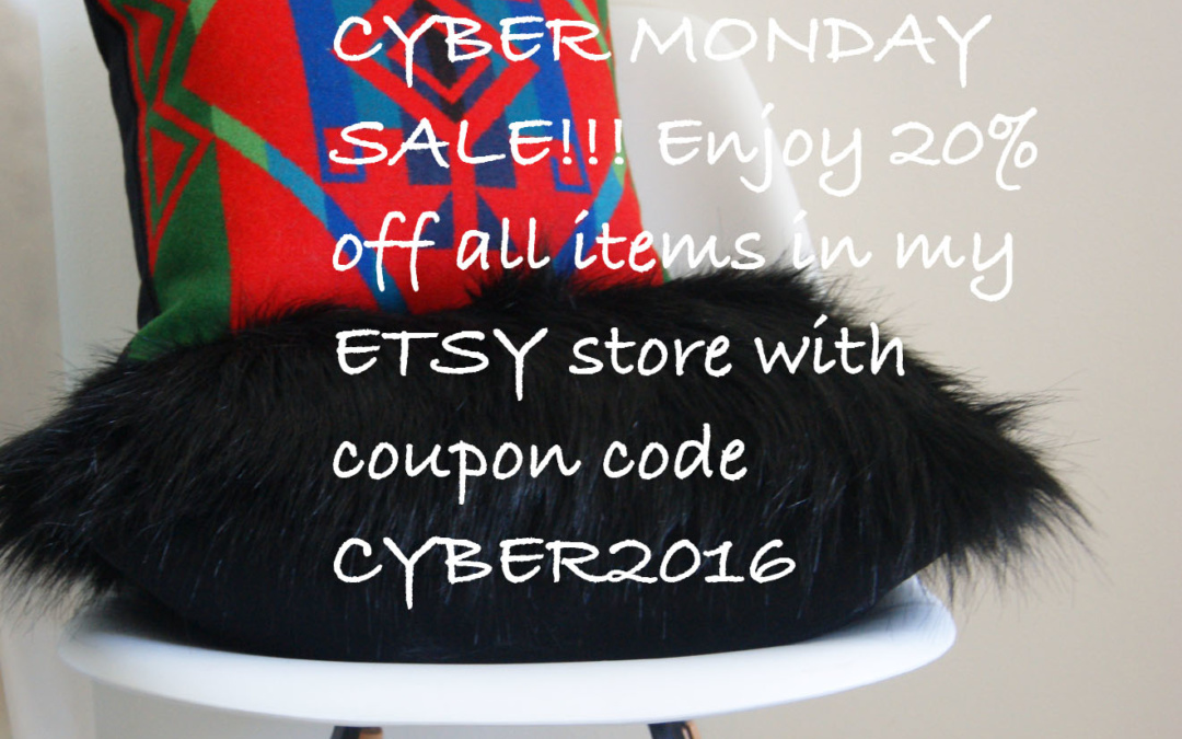 CYBER MONDAY SALE NOW THRU NOV 30th