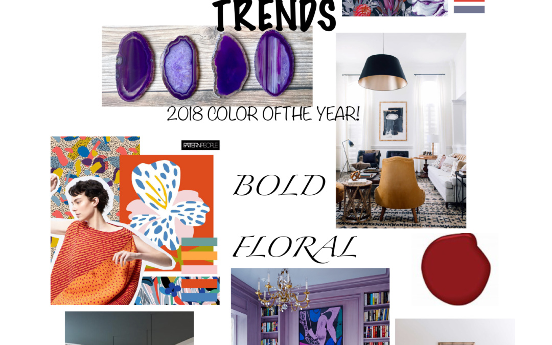 A LOOK AT DESIGN TRENDS FOR 2018