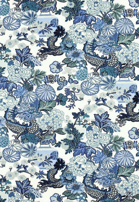 Chiang Mai Dragon China Blue
